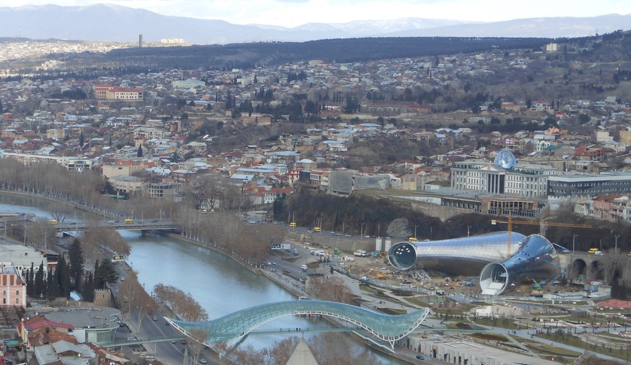 Fuksas Rhike Park Music Theatre Exhibition Hall Tbilisi