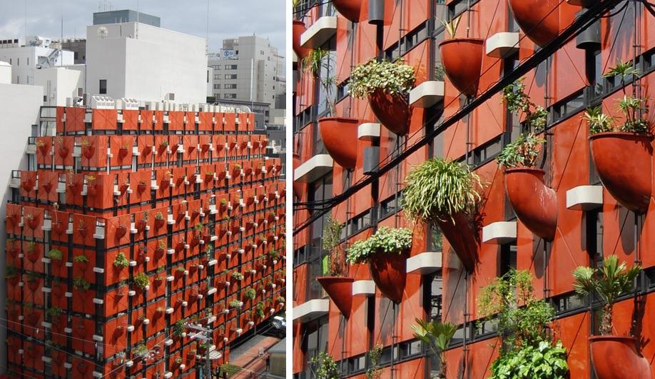 Gaetano Pesce's Organic Building in Osaka
