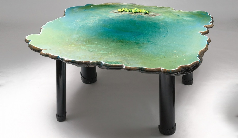 A piece from Gaetano Pesce's Six Tables On Water