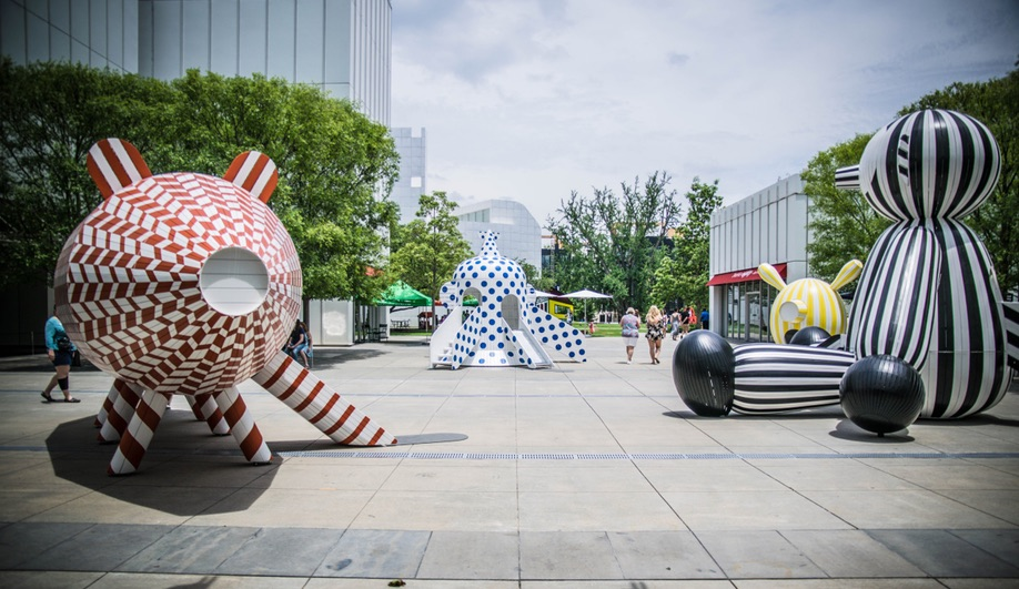 Jaime Hayon's Dreamy Playground Installation in Atlanta