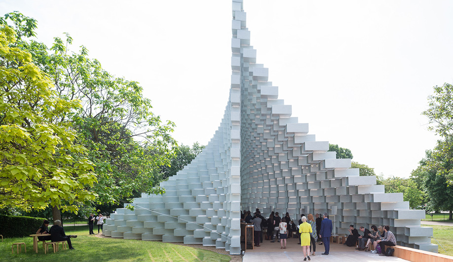 Bjarke Ingels' Serpentine Gallery Pavilion Unzips For Summer