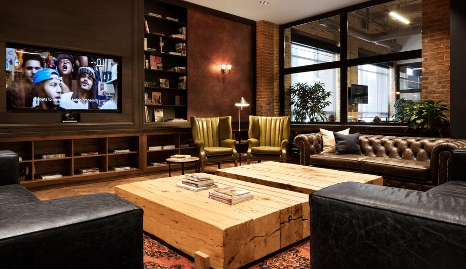 The Bear Room at VICE's new Toronto office