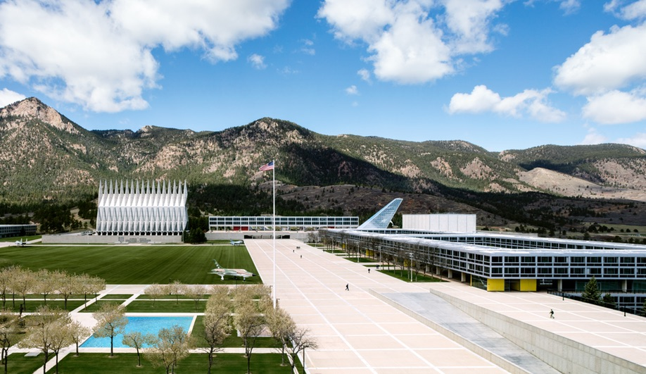 The U.S. Air Force Academy buildings, designed almost entirely by SOM.