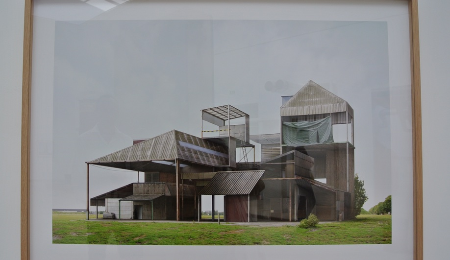 A photograph seen at Bravoure, the Belgian pavilion at the 2016 Venice Architecture Biennale