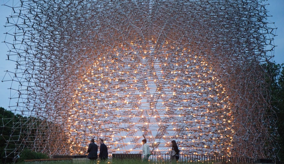 3 Playful Pavilions at the 2016 London Festival of Architecture