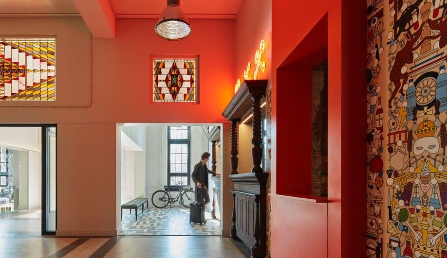 Designagency 39 s generator amsterdam hostel for Design agencies amsterdam