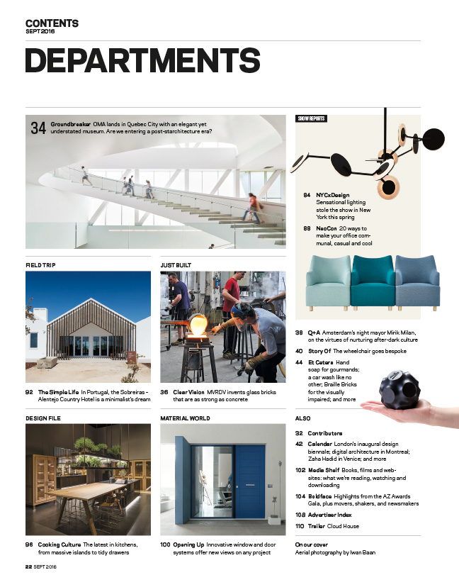 Magazine Departments