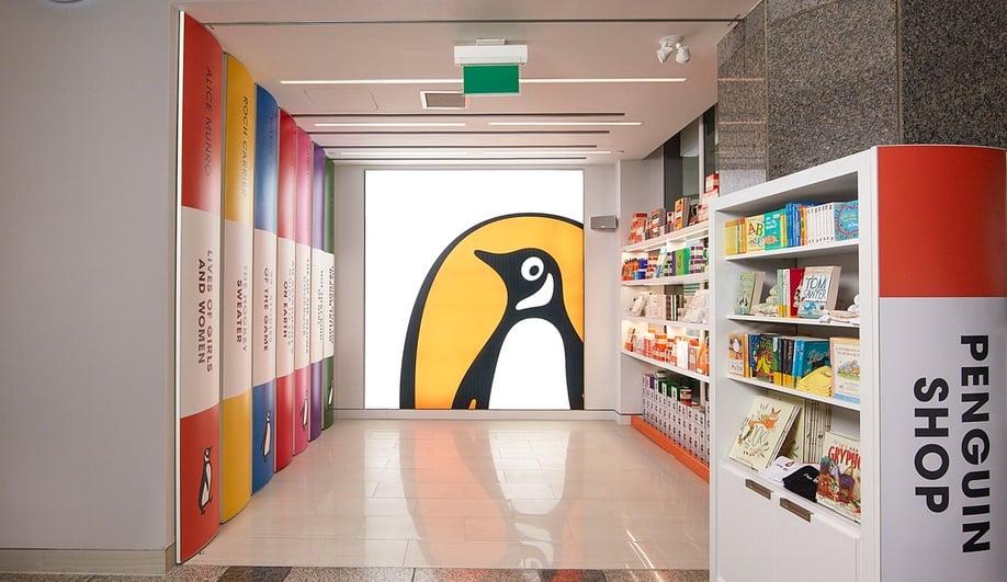 A Dedicated Penguin Book Shop in Toronto