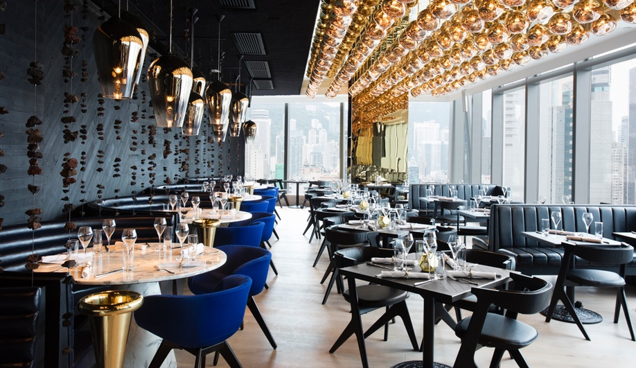 The Luxurious Alto Restaurant in Hong Kong by Tom Dixon