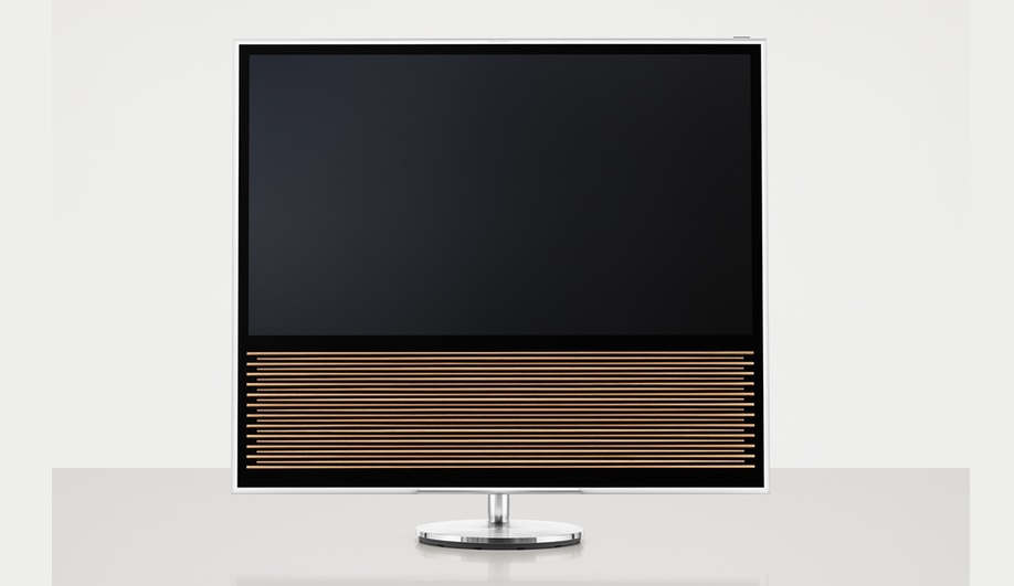 Bang olufsen imagines the television as decor for Mural vision tv