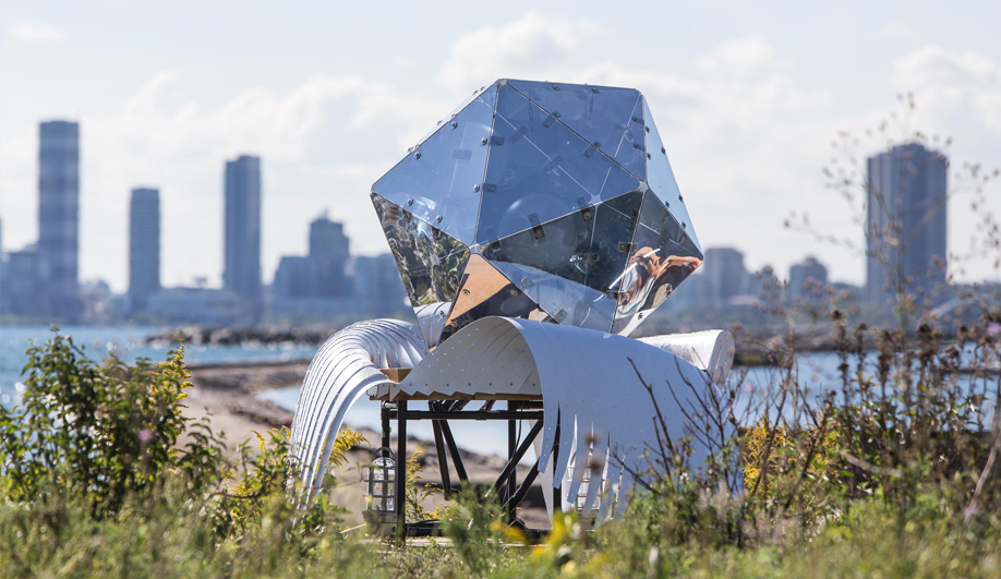 In/Future, a Bold Art Fest, Revives a Toronto Theme Park