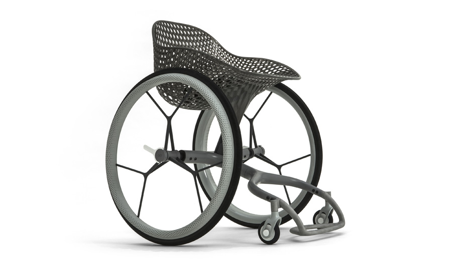 A Customizable Wheelchair by Benjamin Hubert's Layer