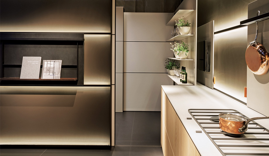 bulthaup azure magazine. Black Bedroom Furniture Sets. Home Design Ideas