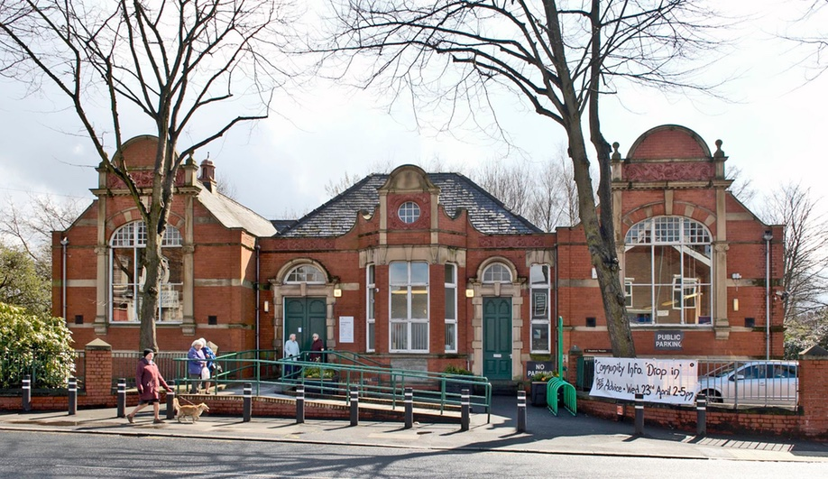 Levenshulme Library, Manchester 1903. Credit: Nigel Young / Foster + Partners