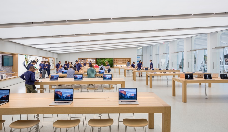 New Apple stores: inside New York's World Trade Centre Transportation Hub, with interiors by Bohlin Cywinski Jackson