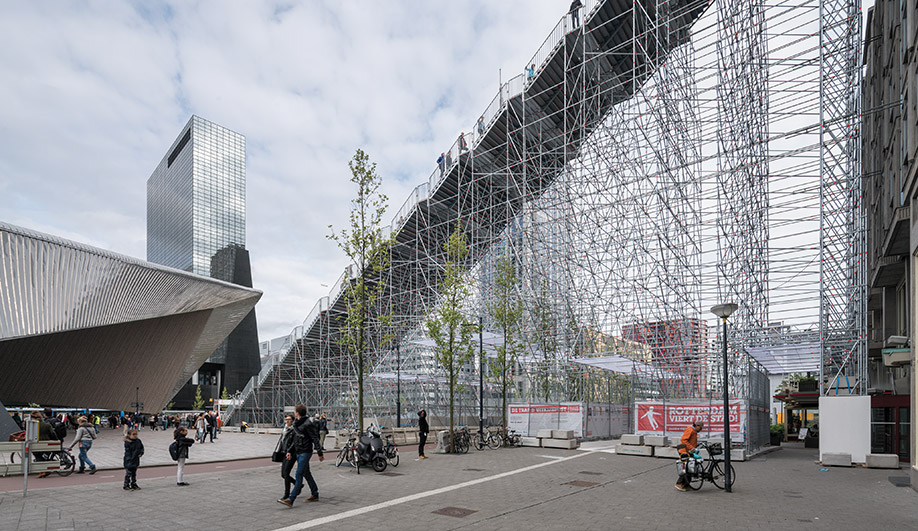 MVRDV's Giant Staircase in Rotterdam