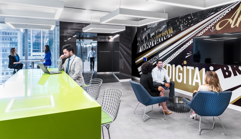 Inside Deloitte's Toronto Headquarters, Where Assigned Seating Is a Thing of the Past