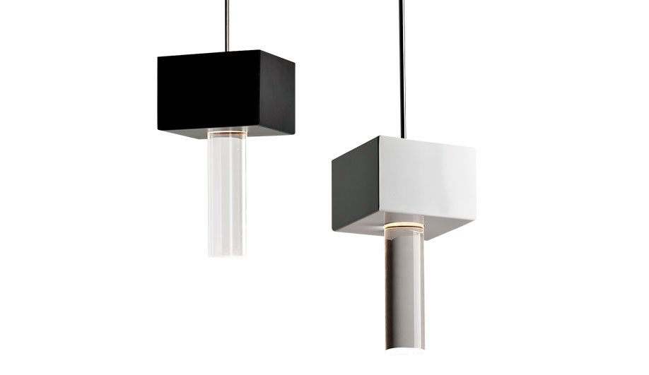 The Rampu lamp, one of several products for lighting brand Fabbian, is a more geometric design for Sommella.