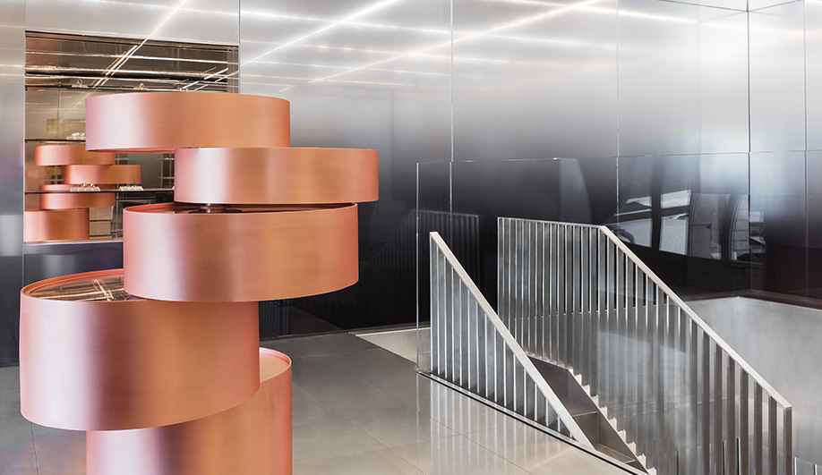 Inside Repossi's Shiny Paris Flagship By OMA