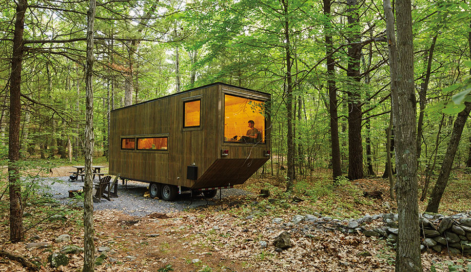 Two Portable Cabins for Camping in Style