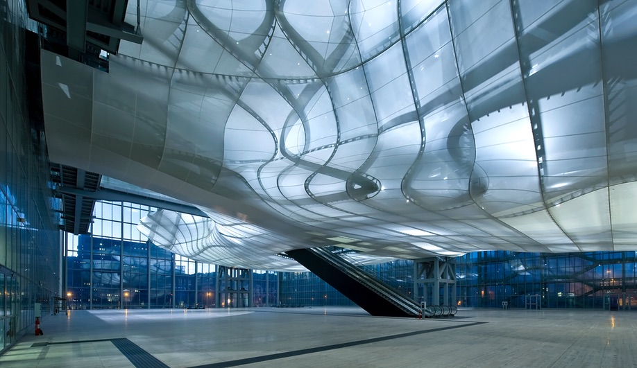 New Rome EUR Convention Hall Hosts a Ghostly Intervention