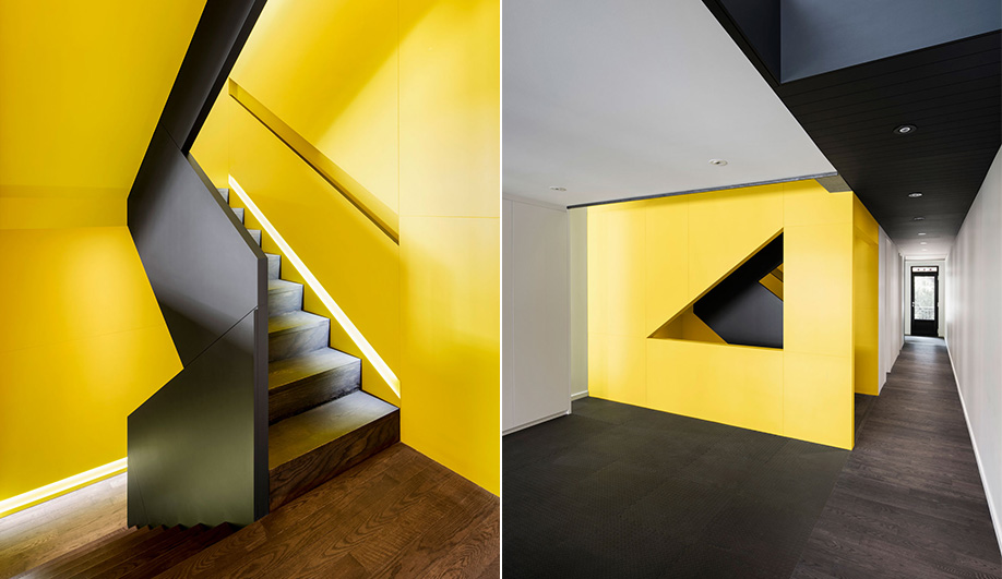Dated Fourplex in Montreal Transformed Into Bold Dream Home