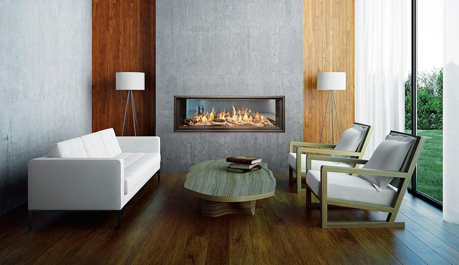 WS54 See-Thru Fireplace