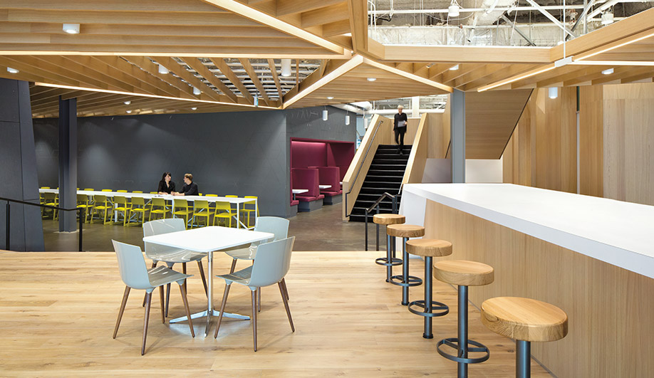 Inside Microsoft's Brave New Office Space in Vancouver