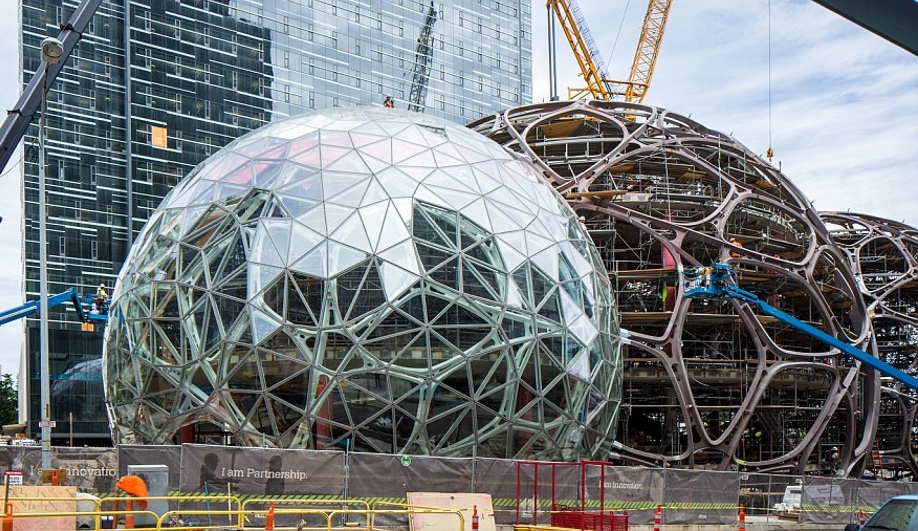 2017 buildings to look forward to: Amazon Spheres by NBBJ