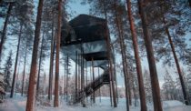 Snøhetta Treehouse Opens at Sweden's Treehotel