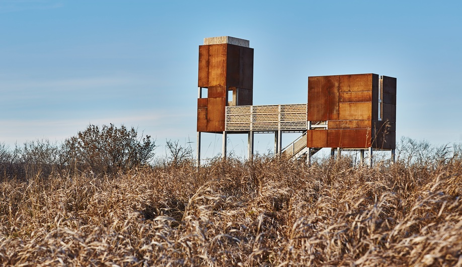 A Corten-Clad Monument in the Prairies Reflects on Métis Life