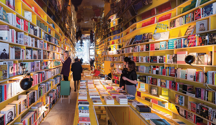SelgasCano Creates a Hip Bookstore in East London
