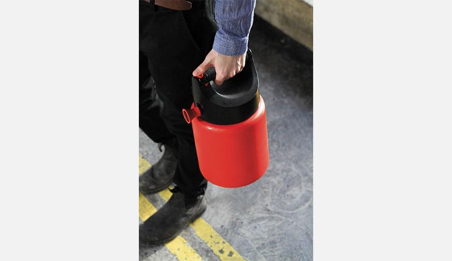 Rob Shudra's Twist fire extinguisher