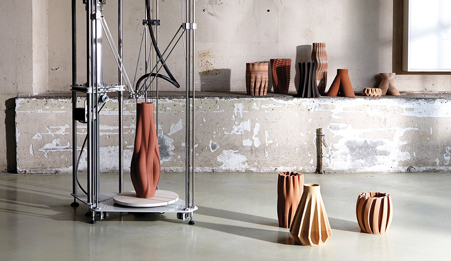Functional 3 D Printed Ceramics, An Automated Extruder System By Olivier  Van Herpt