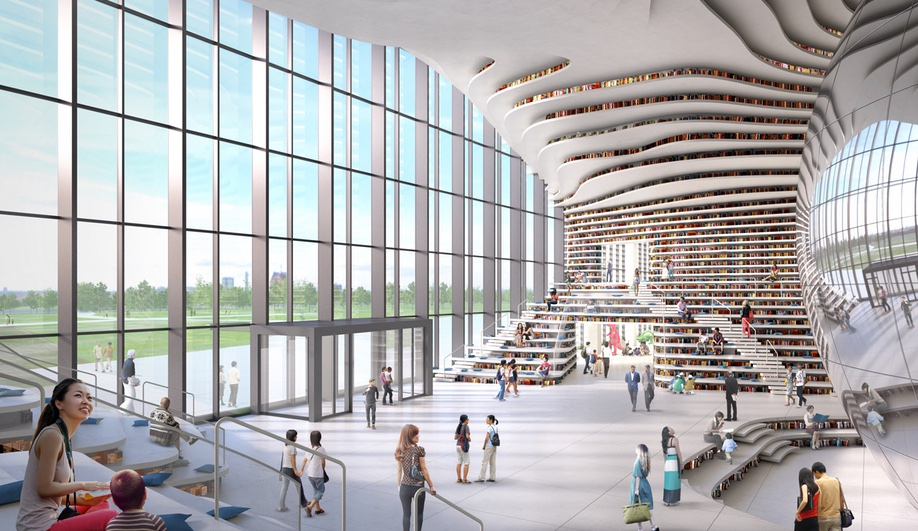 2017 buildings to look forward to: Tianjin Binhai Library by MVRDV