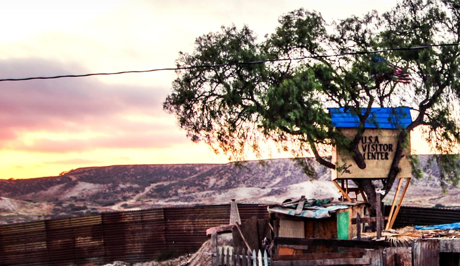 Instead of Trump's Wall, a Treehouse on the U.S.-Mexico Border