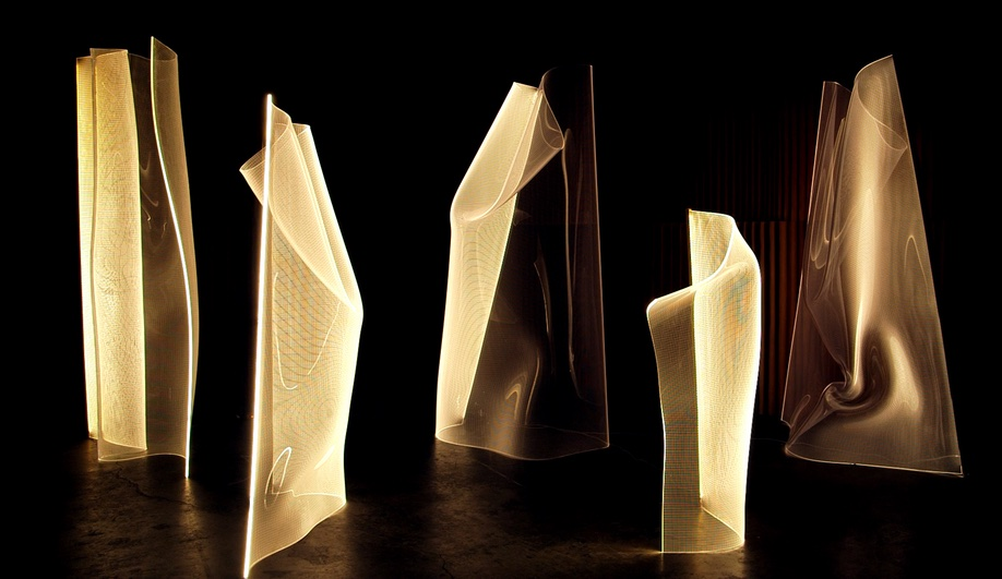 Partisans Bends Light to Create the Ghostly Gweilo