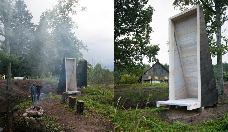 Meditation temples by Hans-Petter Bjørnådal