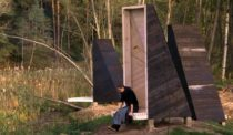 Tiny Meditation Temples in the Lithuanian Forest