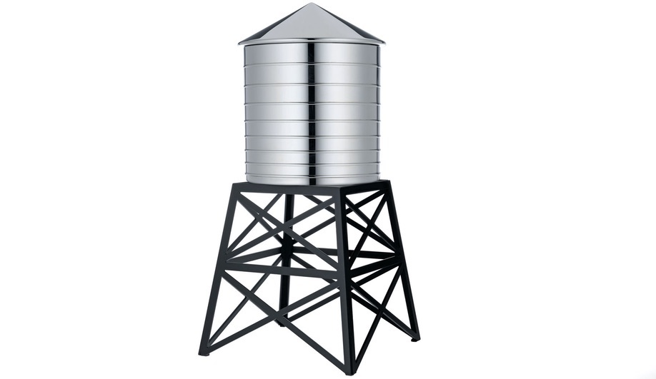 Daniel Libeskind's Water Tower for Alessi