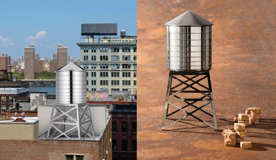 Alessi's spring/summer 2017 collection: Daniel Libeskind's Water Tower