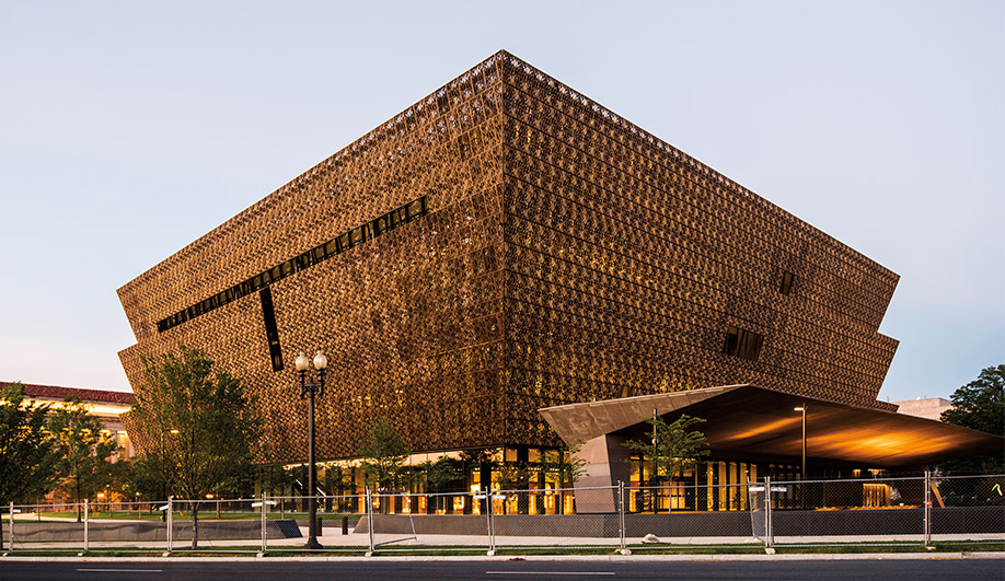 Museum architecture: NMAAHC