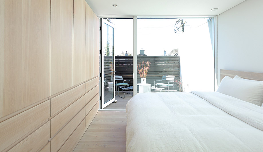 Architect Michael Green and partner Sahra Samnani's compact home in Vancouver.