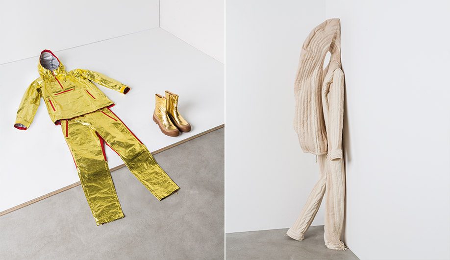 Workwear exhibition: designs by Issey Miyake and Nacho Carbonell