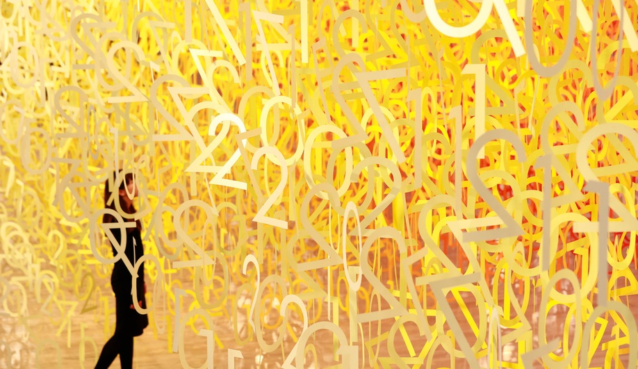 Emmanuelle Moureaux's Forest of Numbers