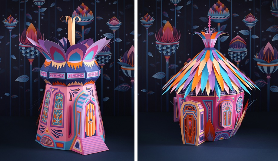 Zim & Zou's Hermès Window Display in Dubai