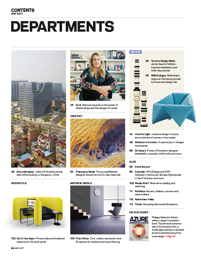 Magazine Departments