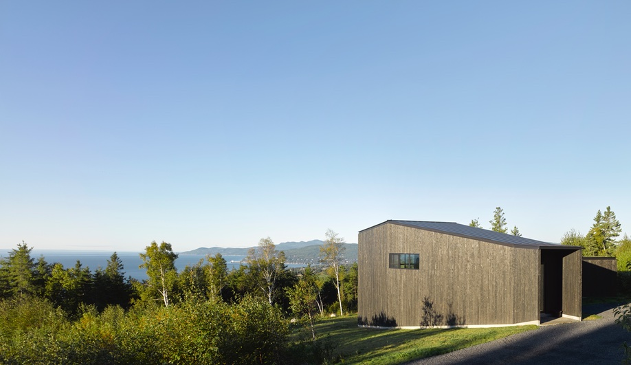Alain Carle Designs a Private Retreat with Stunning Views of the St. Lawrence River