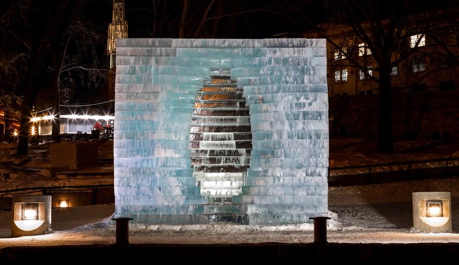 Anish Kapoor's Winnipeg Warming Hut