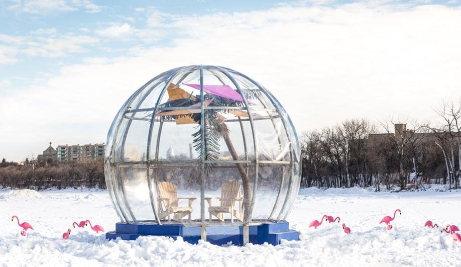 Azure-Winnipeg-Warming-Huts-Bubble-Beach